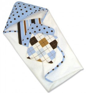 Trend Lab Max Dot 4 Piece Hooded Towel Gift Cake - JEN'S KIDS BOUTIQUE