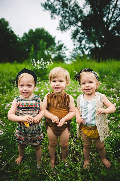 2018 Spring Adorable Crochet Cream Vest - JEN'S KIDS BOUTIQUE