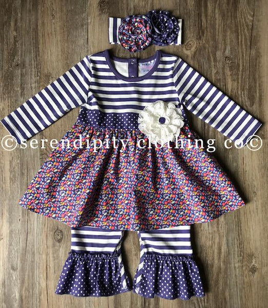 New Serendipity Meadow Infant Skirted Longall - JEN'S KIDS BOUTIQUE