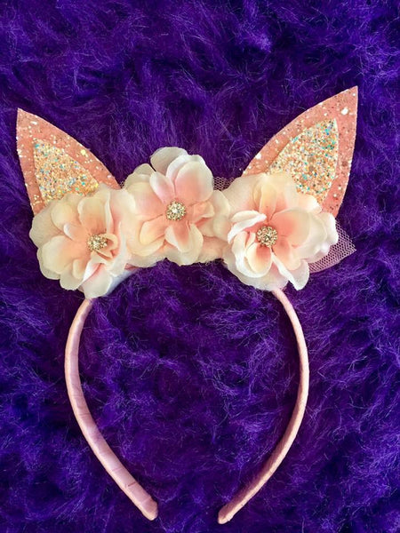 Bella Reese 2017 Easter Bunny Headbands Pink - JEN'S KIDS BOUTIQUE