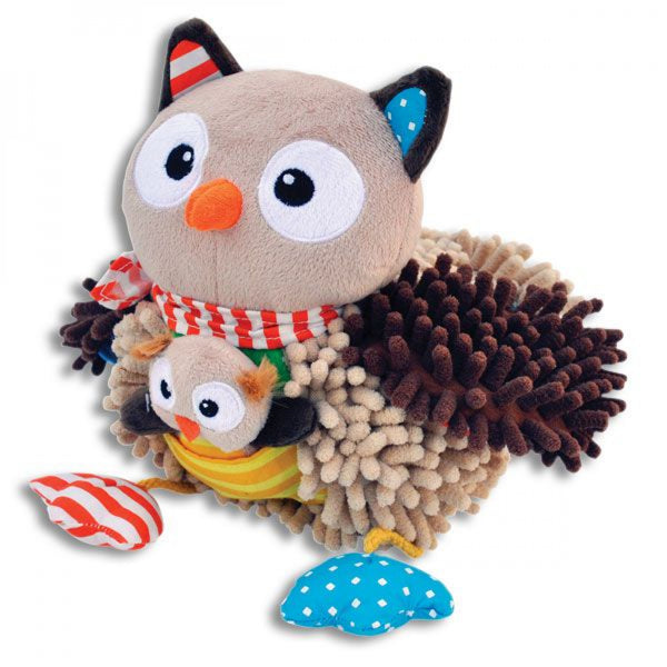 OLIVIA THE OWL SINGING STUFFED ANIMAL - JEN'S KIDS BOUTIQUE