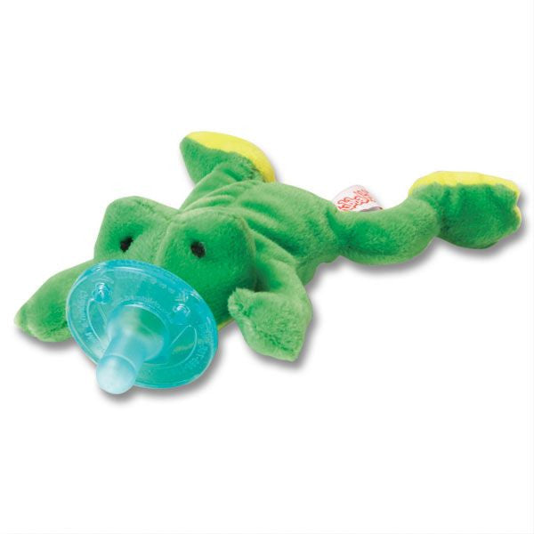 WUBBANUB PACIFIER - Green Frog - JEN'S KIDS BOUTIQUE