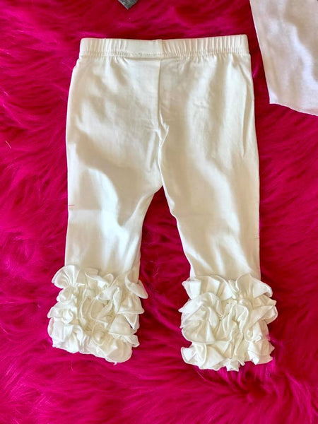 Serendipity Fall Creme Dipity Icing Leggings - JEN'S KIDS BOUTIQUE