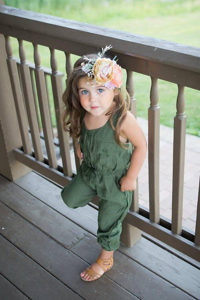 2018 Spring Lillian Jumpsuit Romper - JEN'S KIDS BOUTIQUE