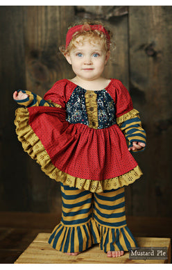 Mustard Pie 2017 Fall Woodland Magic Baby Lola Set - JEN'S KIDS BOUTIQUE