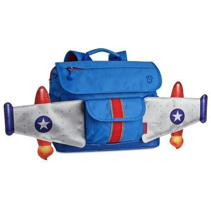 Bixbee Rocketflyer Small Kids Backpack, Blue - JEN'S KIDS BOUTIQUE