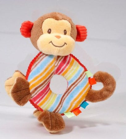 Douglas Monkey Play Tivity Rattle - JEN'S KIDS BOUTIQUE