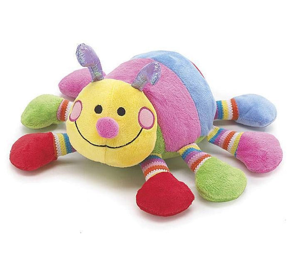 "Burton and Burton 13"" Callie Caterpillar Plush Rattle Stuffed Rainbow Toy - JEN'S KIDS BOUTIQUE"