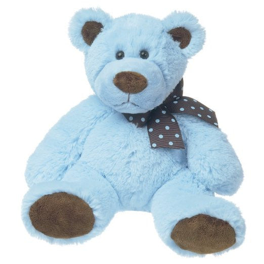 Mary Meyer Sweet Chocolate Plush Bear, Blue, small - JEN'S KIDS BOUTIQUE