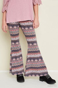Hayden Pink Retro Colorful Pants - JEN'S KIDS BOUTIQUE
