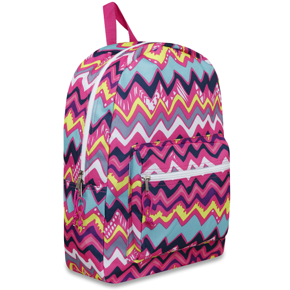 Schools In Backpacks Chevron Fun - JEN'S KIDS BOUTIQUE
