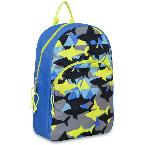 Schools In Backpack Shark Crazy - JEN'S KIDS BOUTIQUE