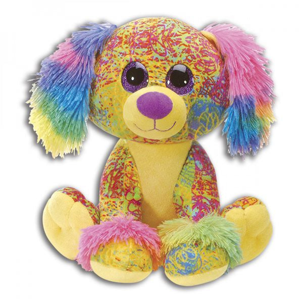 SCRIBBLEEZ PLUSH DOG TOY - JEN'S KIDS BOUTIQUE