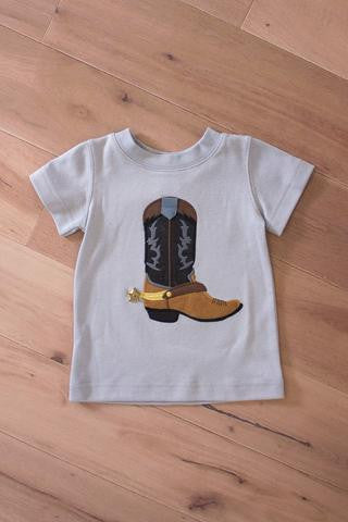 Wally & Willie Spring Boot Shirt - JEN'S KIDS BOUTIQUE