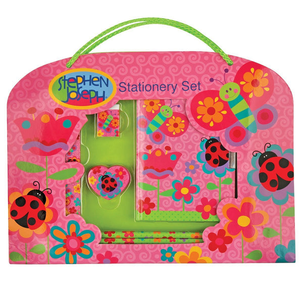 Stephen Joseph Toys Butterfly Stationary Set - JEN'S KIDS BOUTIQUE