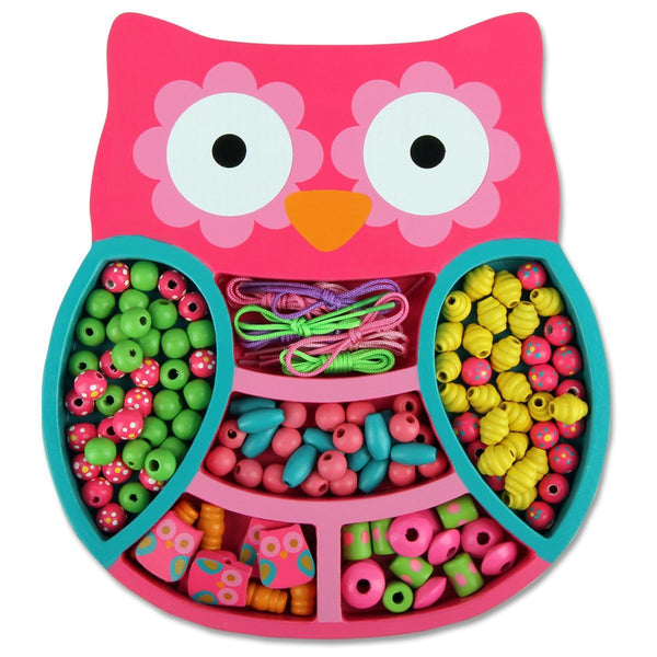 Stephen Joseph Owl Bead Boutique Jewelry Kit and Keepsake Box for Girls - JEN'S KIDS BOUTIQUE