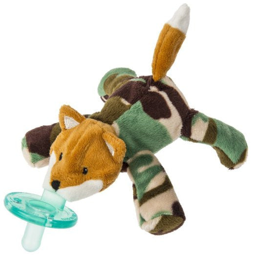 Wubbanub Pacifier Little Camo Fox - JEN'S KIDS BOUTIQUE