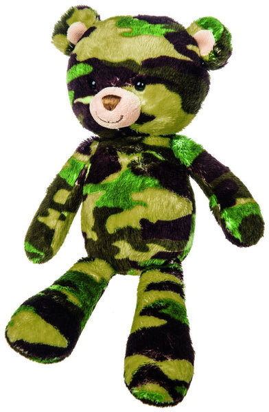 Mary Meyer Green Camo Bear Plush Toy, 11-Inch - JEN'S KIDS BOUTIQUE