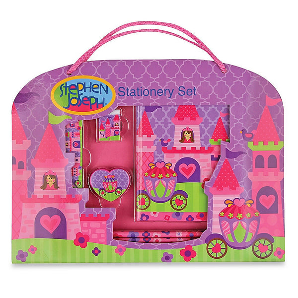 Stephen Joseph™ Princess Stationery Set in Purple/Multi - JEN'S KIDS BOUTIQUE