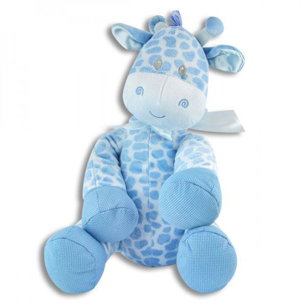 LARGE STUFFED BABY GIRAFFE - BLUE - JEN'S KIDS BOUTIQUE