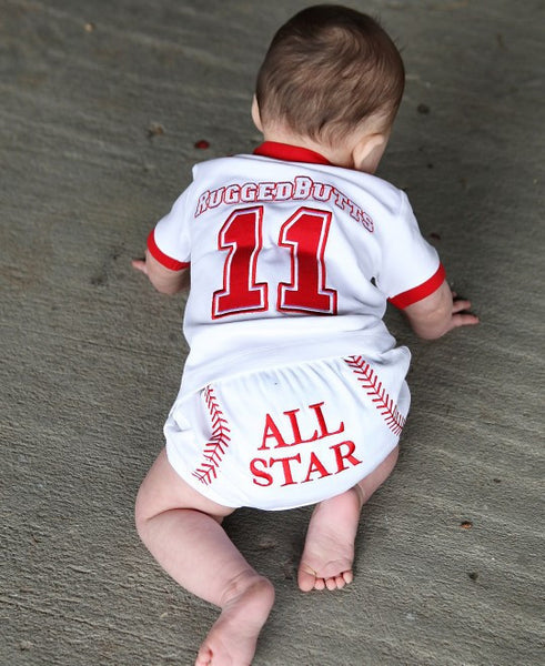 Rugged Butts baseball all star bloomer - JEN'S KIDS BOUTIQUE