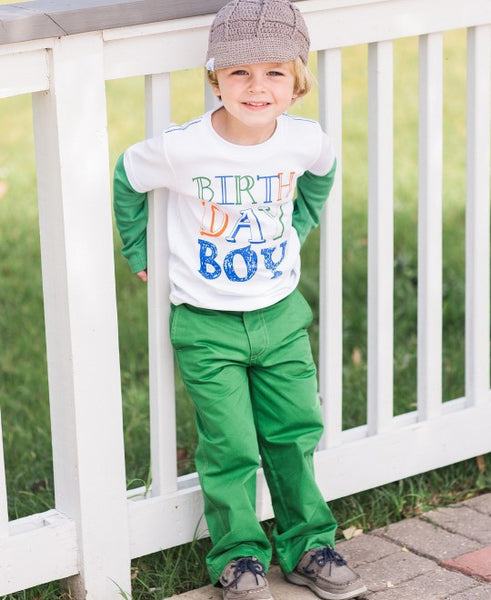 Rugged Butts birthday boy tee - JEN'S KIDS BOUTIQUE