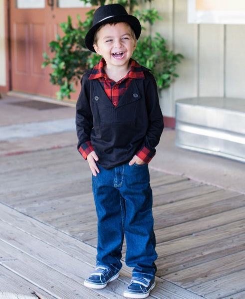 Rugged Butts Everyday Dark Navy Slim Jeans - JEN'S KIDS BOUTIQUE
