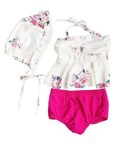 2018 Summer Nautical Infant Two Piece Swim Suit - JEN'S KIDS BOUTIQUE