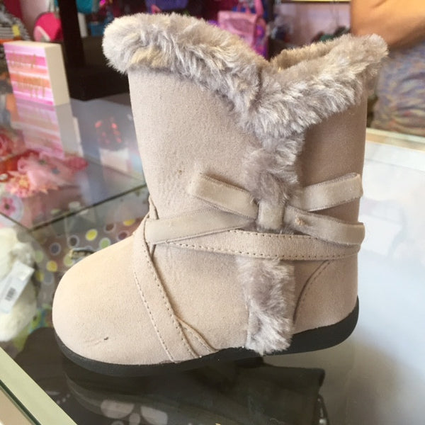 Itzy Bitzy Stephanie Gray Boots - JEN'S KIDS BOUTIQUE