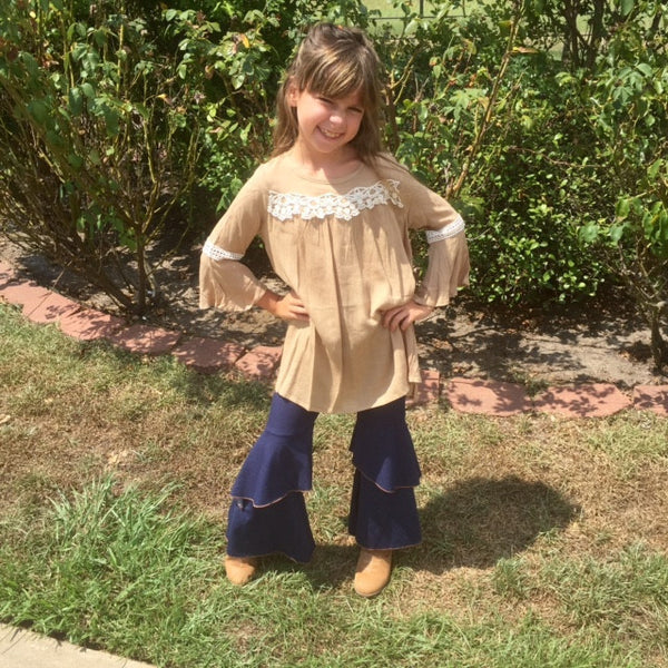 Haydens Retro Flare Leggings - JEN'S KIDS BOUTIQUE