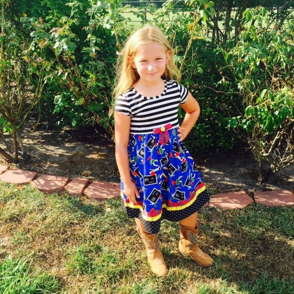 Bonnie Jean ABC dress - JEN'S KIDS BOUTIQUE