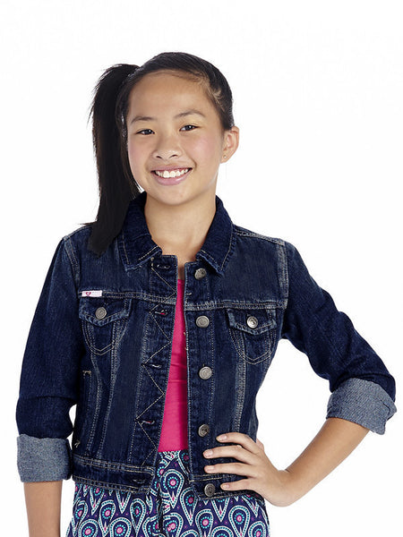 Cutie Patootie Denim Jacket. - JEN'S KIDS BOUTIQUE