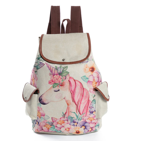 2018 Colorful Unicorn Backpack - JEN'S KIDS BOUTIQUE