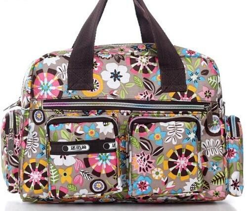 Adorables Pink Fower Small Diaper Bag - JEN'S KIDS BOUTIQUE