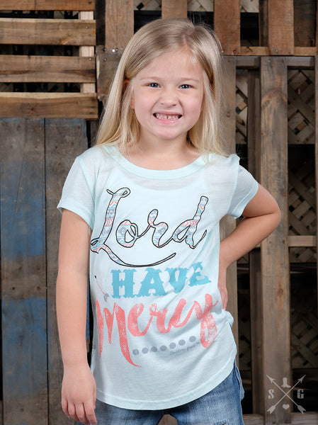 Southern Grace Spring Shortsleeve Lord Have Mercy Shirt - JEN'S KIDS BOUTIQUE