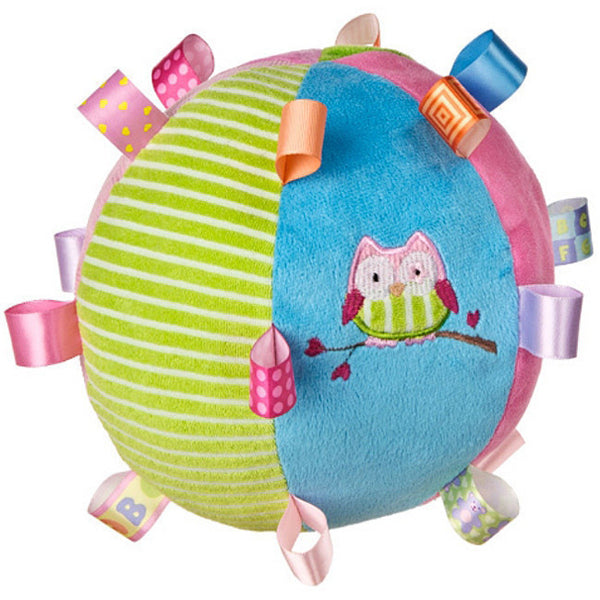 Mary Meyers Taggies Colorful Ball Owl - JEN'S KIDS BOUTIQUE