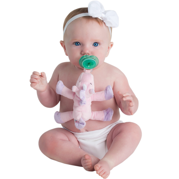 Nookums Paci-Plushies Unity Unicorn - JEN'S KIDS BOUTIQUE