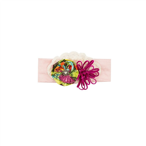 HAUTE BABY AUTUMN BLOOMS HEADBAND - JEN'S KIDS BOUTIQUE