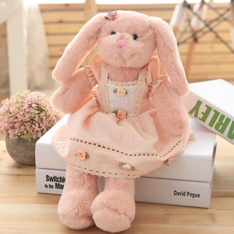Princess Easter Fancy Apricot Bunnies - JEN'S KIDS BOUTIQUE