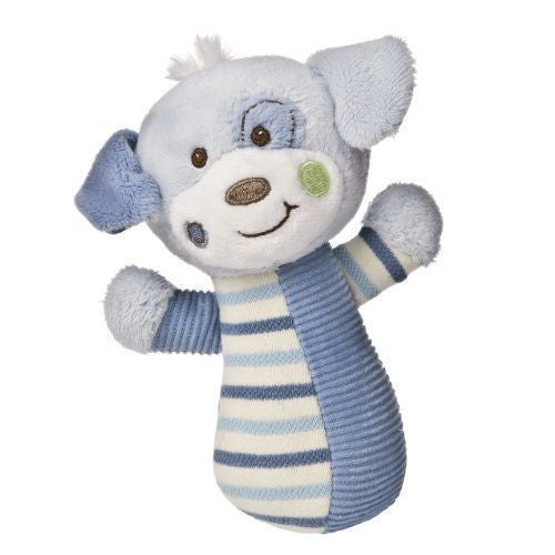 Mary Meyer Baby Cheery Cheeks Rattle, Woof Woof Puppy - JEN'S KIDS BOUTIQUE