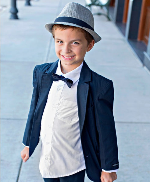 Rugged Butts 2017 Fall Charlie Fedora Hat - JEN'S KIDS BOUTIQUE