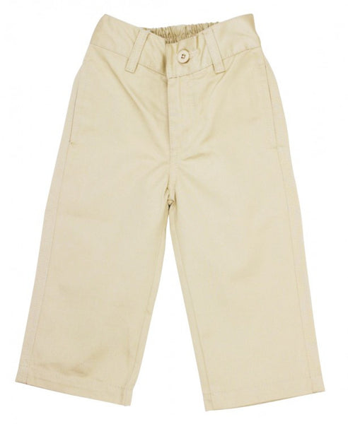 Rugged Butts Boys Tan Chinos Tan Pants - JEN'S KIDS BOUTIQUE
