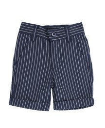 Rugged Butts Boys Navy Pinstripe  Seersucker Shorts - JEN'S KIDS BOUTIQUE