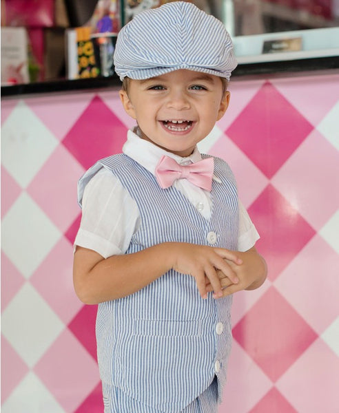 Rugged Butts Polished in Pink Bow Tie - JEN'S KIDS BOUTIQUE