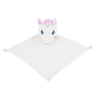 CUBBIES WHITE UNICORN BLANKIE - JEN'S KIDS BOUTIQUE