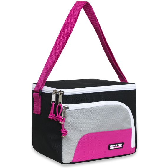 Schools In Awesome Lunch Bag Pink and Black - JEN'S KIDS BOUTIQUE