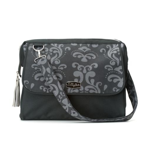 Demdaco LBIT Damask Diaper Bag - JEN'S KIDS BOUTIQUE