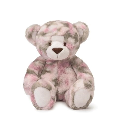 Demdaco Camo Pink Bear - JEN'S KIDS BOUTIQUE