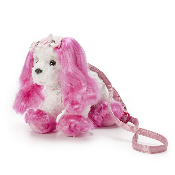 Demdaco Princess of Beverly Hills  Puppy Bag with Heart Bracelet - JEN'S KIDS BOUTIQUE