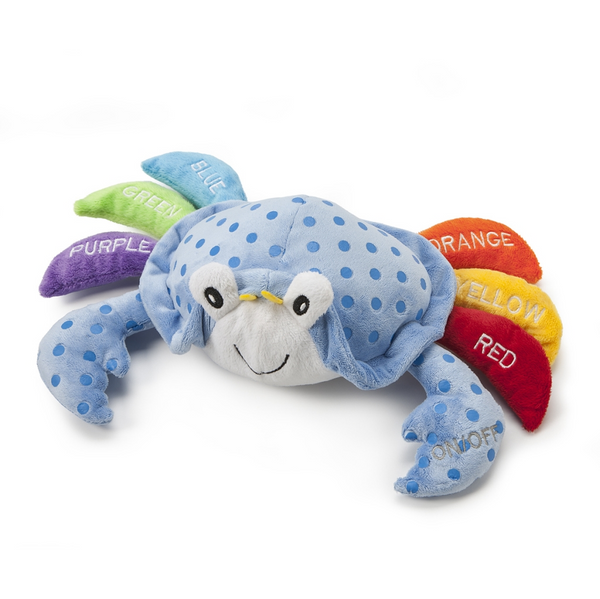 Demdaco Learn your colors fun crab - JEN'S KIDS BOUTIQUE